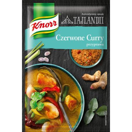 Przyprawa Czerwone Curry – smak Tajlandii marki Knorr - zdjęcie nr 1 - Bangla