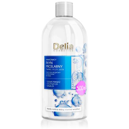 Nawilżający płyn micelarny z kwasem hialuronowym marki Delia Cosmetics - zdjęcie nr 1 - Bangla