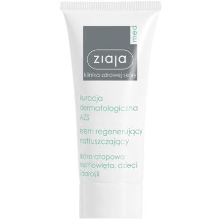 Krem regenerujący Kuracja dermatologiczna AZS marki Ziaja med - zdjęcie nr 1 - Bangla