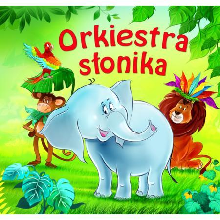 Orkiestra słonika - książeczka kartonowa marki Wydawnictwo MD Monika Duda - zdjęcie nr 1 - Bangla