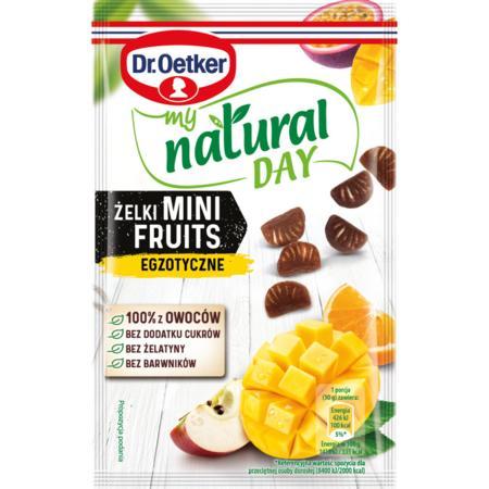 Żelki Mini Fruits My Natural Day marki Dr Oetker - zdjęcie nr 1 - Bangla