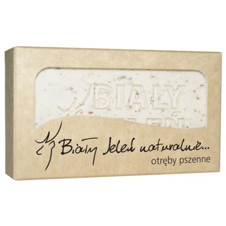 Biały Jeleń mydło z otrębami pszennymi Naturalnie marki Pollena Ostrzeszów - zdjęcie nr 1 - Bangla