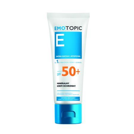 EMOTOPIC Mineralny krem ochronny do twarzy i ciała SPF 50+ marki Pharmaceris - zdjęcie nr 1 - Bangla