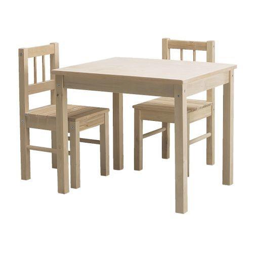Stolik i 2 krzesełka SVALA, IKEA Opinie, Testy, Cena