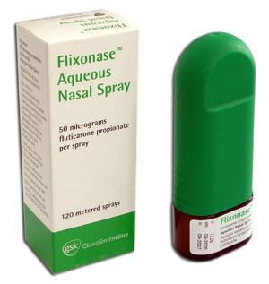 fluticasone propionate and zoloft
