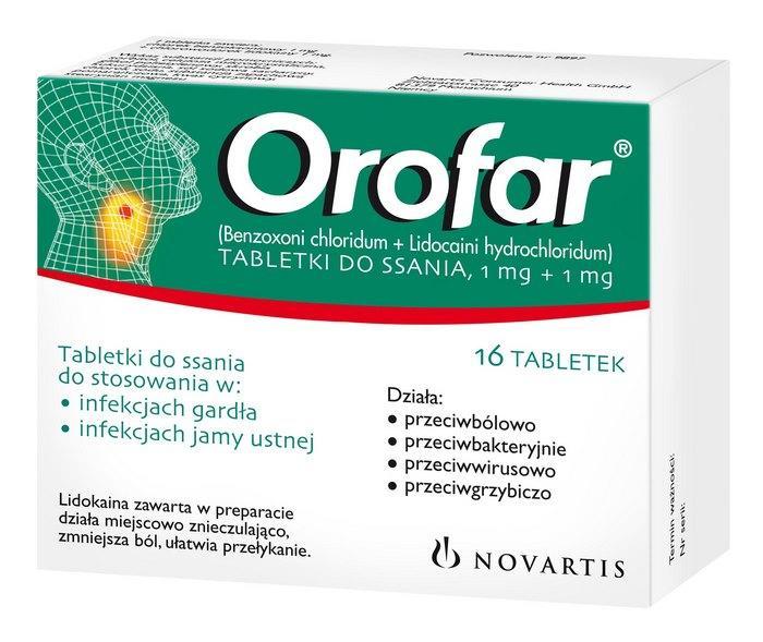Orofar uses