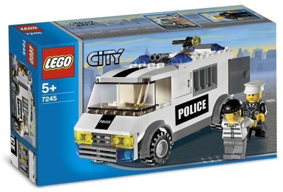 City Police Prisoner Transport Konwój Lego Opinie Testy Cena
