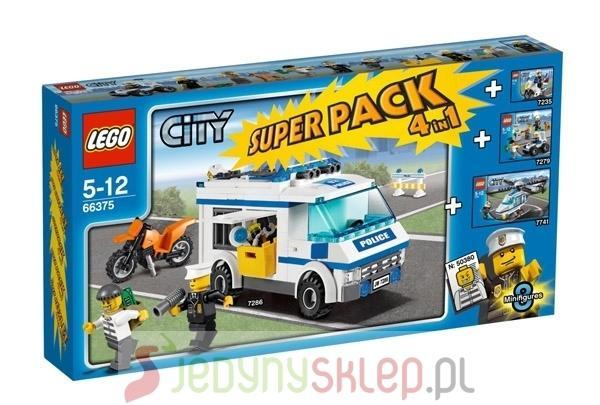 City Policja Superpack 4 In 1 66375 Lego Opinie Testy Cena