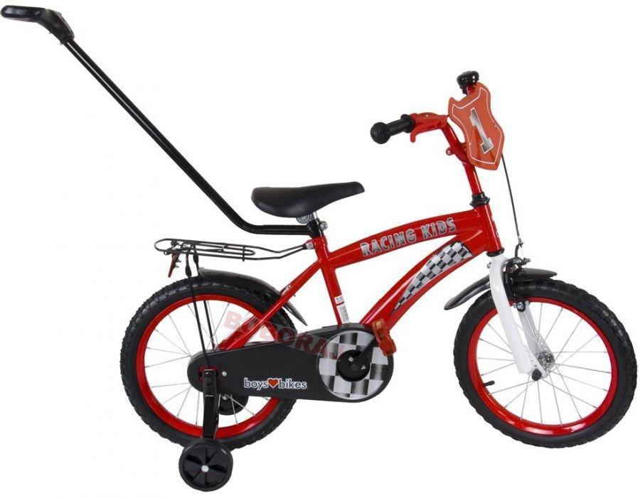 Kids Love Bikes, Racing Kids, Rowerek BMX 16""