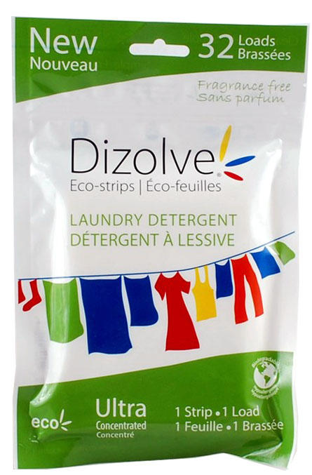 Eco Strips Laundry Detergent Ultra Concentrated, super skoncentrowane listki do prania