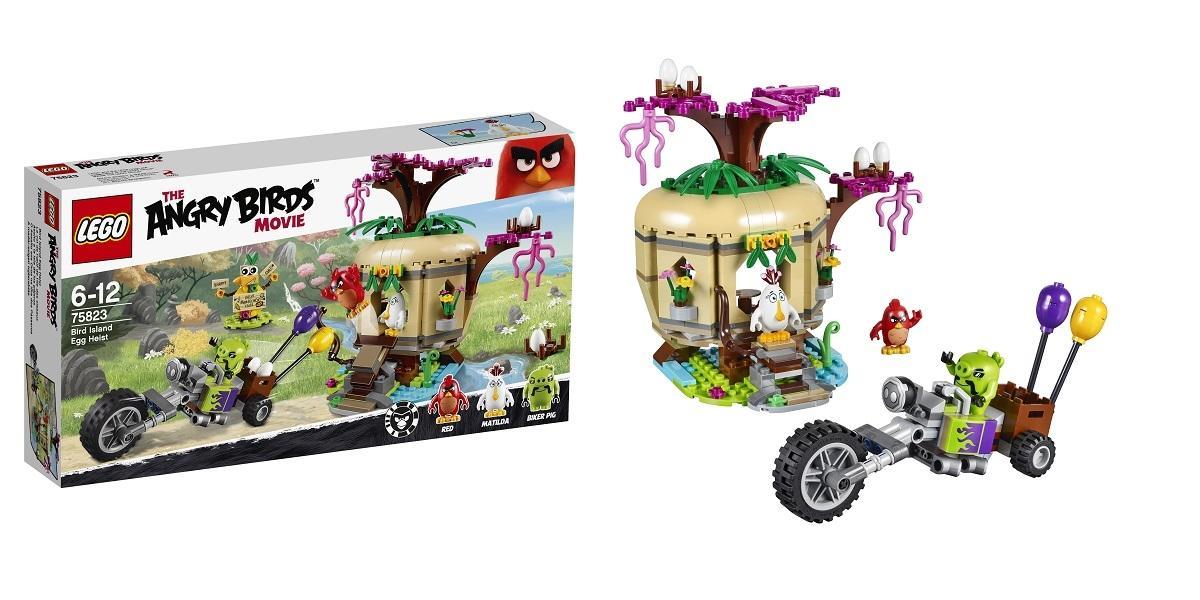 Lego Angry Birds Movie Kradzież Jaj Na Ptasiej Wyspie 75823 Lego