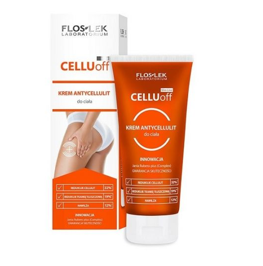 Slim Line Cellu-off, Krem antycellulit do ciała (FlosLek)