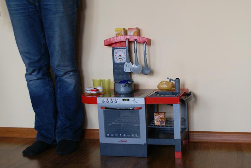 Zdjęcia Smoby Kuchnia CHEFTRONIC mini Tefal, 24244 (1 14   -> Kuchnie Dla Dzieci Mini Tefal