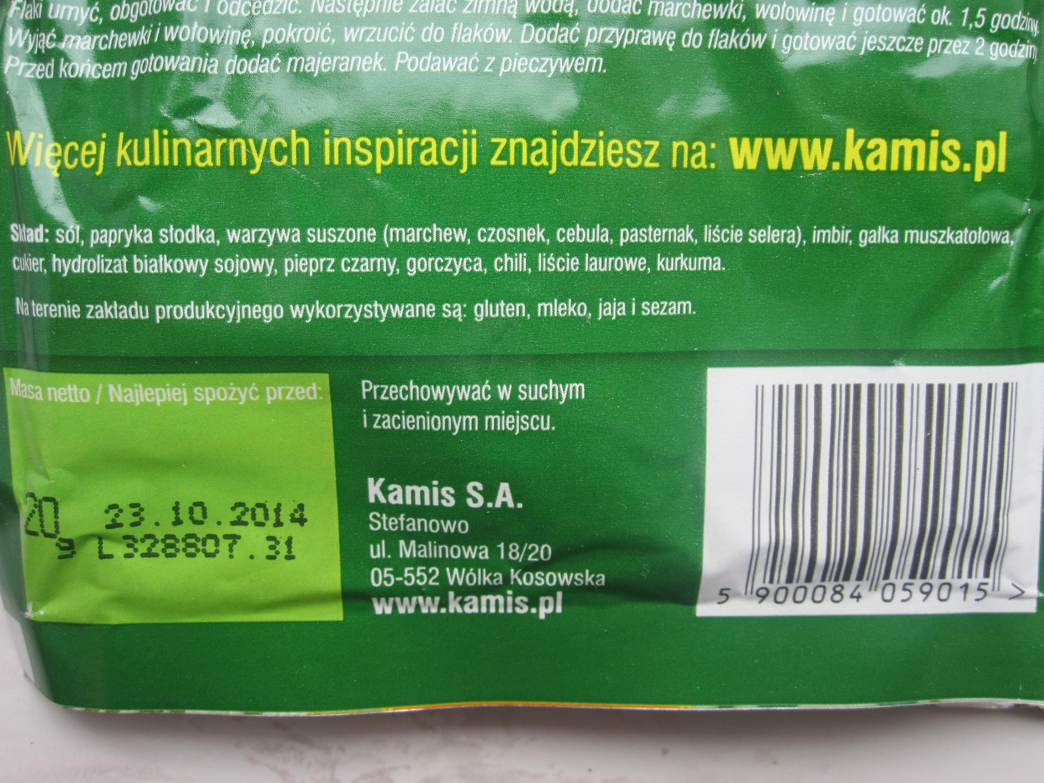 Kuchnia Polska Przyprawa Do Flaków Kamis Opinie Testy Cena