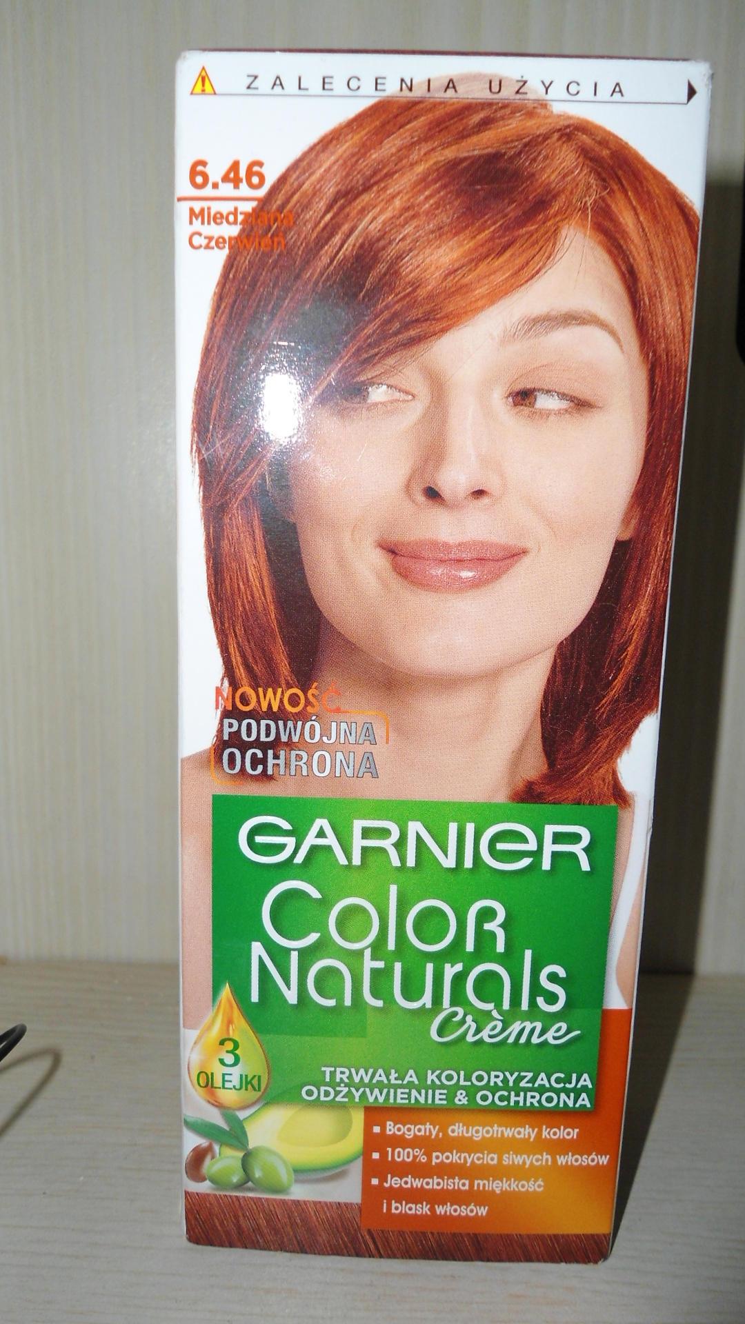 Garnier Color Naturals. Wszystkie kolory