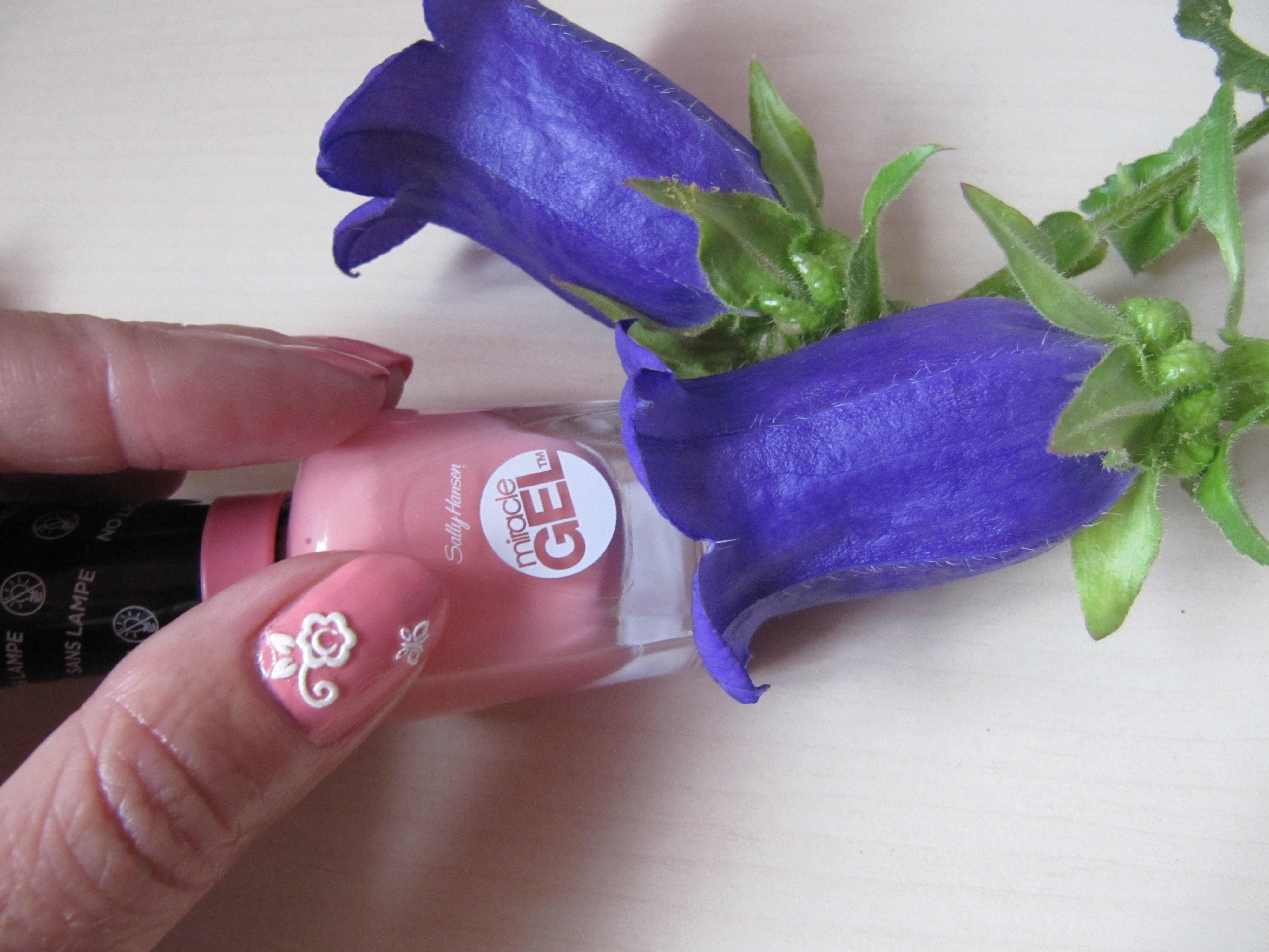 Sally Hansen Miracle gel, żelowy manicure